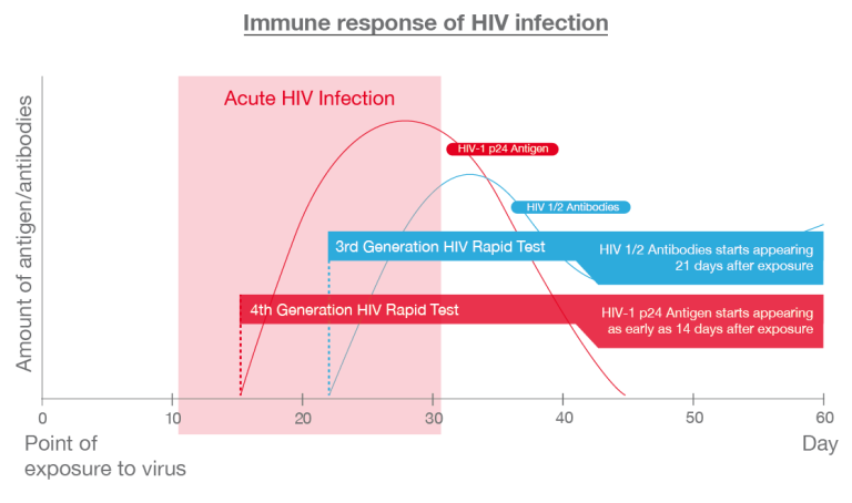Immune-response-of-HIV-infection